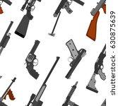 Pattern Of Guns. Machine Gun ...