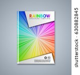 abstract brochure or book cover ... | Shutterstock .eps vector #630882845