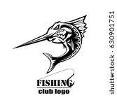 angry marlin fish logo. marlin... | Shutterstock .eps vector #630901751