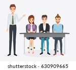 business people teamwork... | Shutterstock .eps vector #630909665