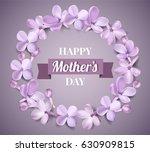 soft pastel color floral 3d... | Shutterstock .eps vector #630909815