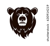 vector logo. bear head on a... | Shutterstock .eps vector #630914219