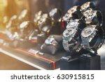 luxury watches in detail  ... | Shutterstock . vector #630915815