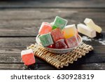 Various Color Turkish Delight...