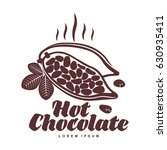 vector logo template roasted... | Shutterstock .eps vector #630935411
