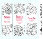 french food design template.... | Shutterstock .eps vector #630944699