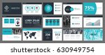 presentation templates with... | Shutterstock .eps vector #630949754