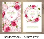 Stock vector vector vertical banners with garden roses and tulip flowers on white background romantic design 630951944