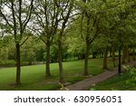 london green spring park  | Shutterstock . vector #630956051