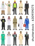 different people professions... | Shutterstock .eps vector #630959075