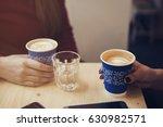 coffee break concept | Shutterstock . vector #630982571