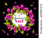 Summer Sale. Beautiful Floral...