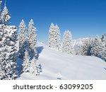 Winter In Swiss Alps ...
