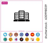 group of servers | Shutterstock .eps vector #630998039