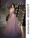 fashion bride in gorgeous