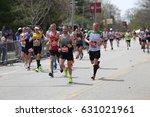 boston   april 17  over 27000...   Shutterstock . vector #631021961
