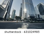 the office buildings at city | Shutterstock . vector #631024985