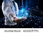 system of interconnection of... | Shutterstock . vector #631029791