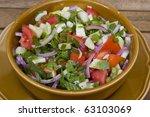 vegetable salad | Shutterstock . vector #63103069