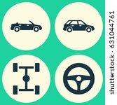 Automobile Icons Set....