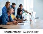 creative business team... | Shutterstock . vector #631046489