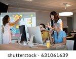 creative business team working...   Shutterstock . vector #631061639
