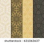 seamless geometry pattern set.... | Shutterstock .eps vector #631063637