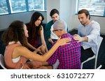 creative business team... | Shutterstock . vector #631072277