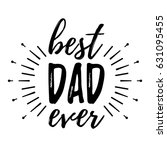 happy father's day banner and