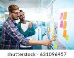 creative business team reading... | Shutterstock . vector #631096457
