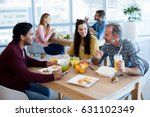 creative business team working... | Shutterstock . vector #631102349