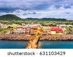 basseterre  st. kitts and nevis ... | Shutterstock . vector #631103429