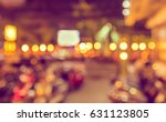 Abstract Blurred Image Of ...