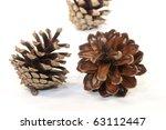 cones  xmas decoration | Shutterstock . vector #63112447