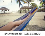 beautiful female feet and legs... | Shutterstock . vector #631132829