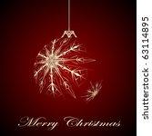symbol of christmas | Shutterstock . vector #63114895