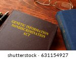 book with title the genetic... | Shutterstock . vector #631154927