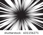 background of radial lines for... | Shutterstock .eps vector #631156271