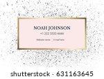 design business card template... | Shutterstock .eps vector #631163645