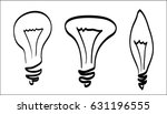 lamp outline | Shutterstock . vector #631196555