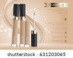 hydrating facial concealer for... | Shutterstock .eps vector #631203065