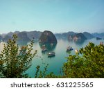 View Over Famous Ha Long Bay....
