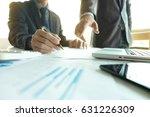 coworking process  business... | Shutterstock . vector #631226309