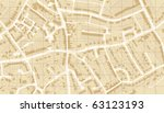 illustrated map of housing in a ... | Shutterstock . vector #63123193