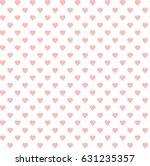 abstract vector heart pattern. | Shutterstock .eps vector #631235357