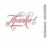 thanks | Shutterstock . vector #631242281