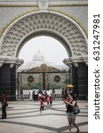 Small photo of Kuala lumpur, Malaysia - June 2013 : The monumental gate of Istana Negara Jalan Duta, Malaysia.