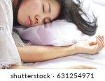 beautiful young asian woman... | Shutterstock . vector #631254971