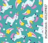 vector seamless pattern with... | Shutterstock .eps vector #631259837