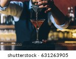 expert barman is making... | Shutterstock . vector #631263905